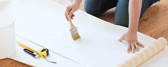 papier peint à Grasse